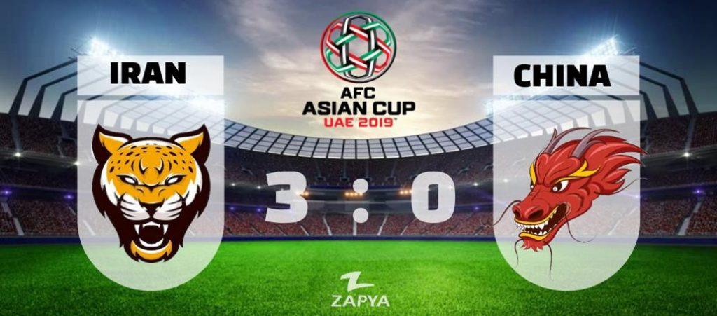 عبور از دیوار چین و صعود به نیم نهایی جام ملت های آسیا