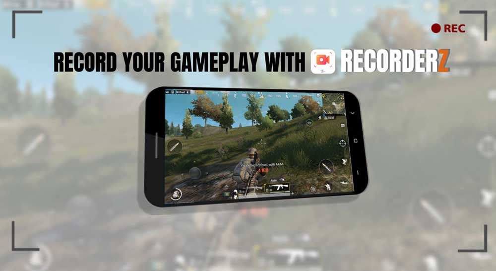 Record Gameplay on Android with RecorderZ App