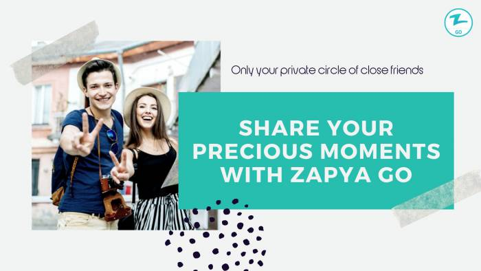 How to Post Photos on Zapya Go Moments