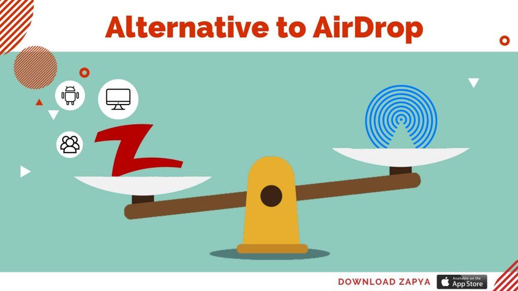 بديل AirDrop