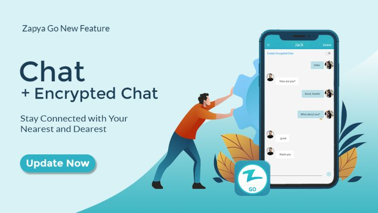 Encrypted Chat Now Available on Zapya Go