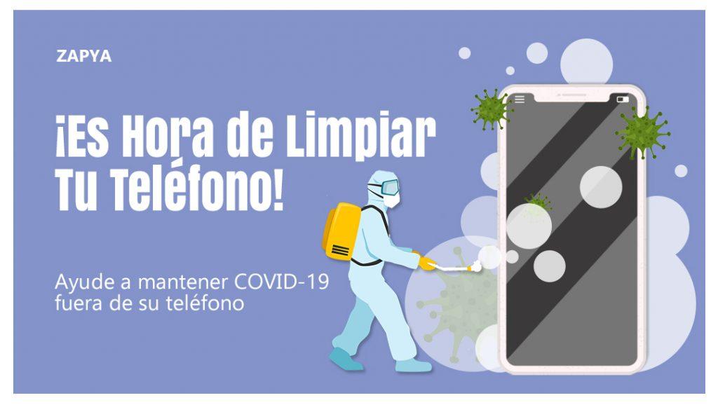 ¡Es Hora de Limpiar Tu Teléfono!