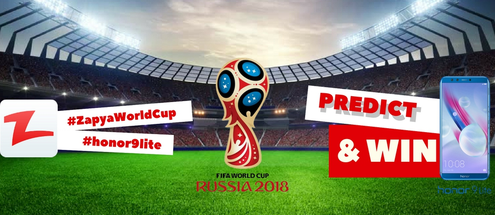 Predict 2018 Football World Cup and Win Honor 9 Lite in Iran