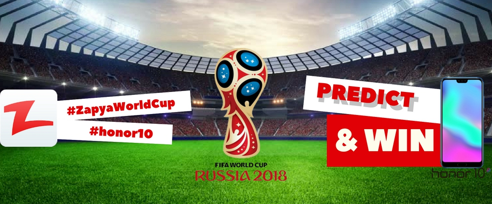 Predict 2018 Football World Cup and Win Honor 10 in Egypt