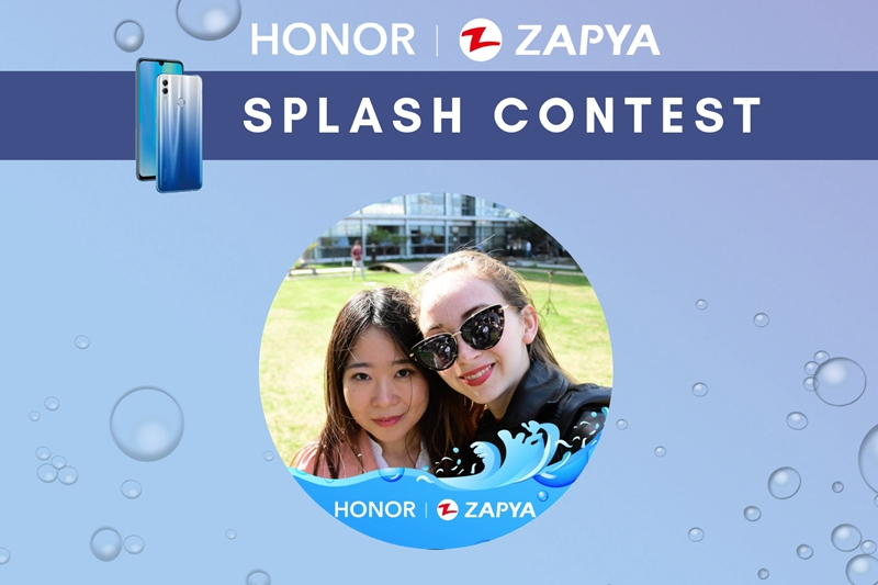 Zapya Honor Splash Contest Results
