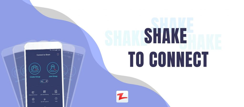 Zapya Introduces the Shake to Connect Feature