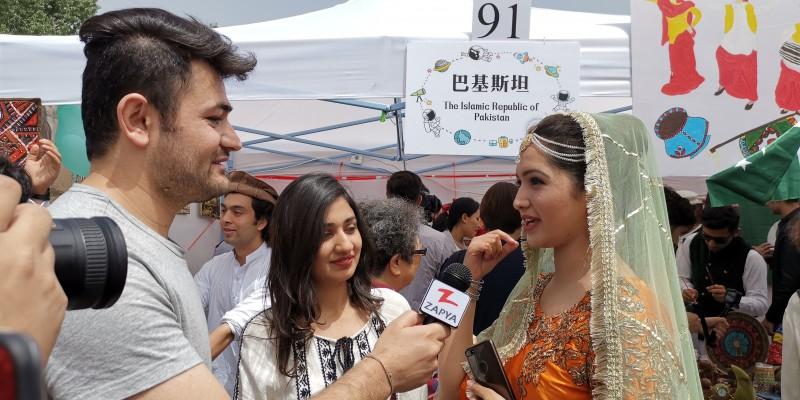 BLCU Organized Cultural Festival in Beijing