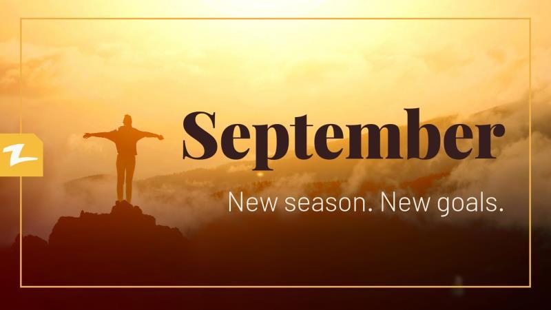 Let's achieve September goals together!