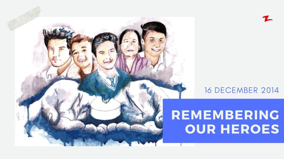 We Won't Forget Heroes of APA