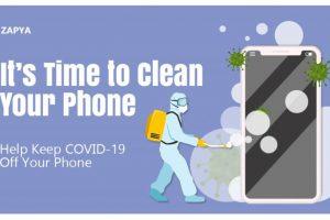 သင်၏ဖုန်းကိုသန့်ရှင်းရေးလုပ်ရန်အချိန်ရောက်ပြီ