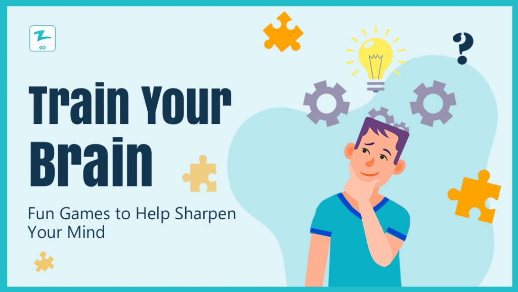 Train Your Brain: Fun Games to Help Sharpen Your Mind