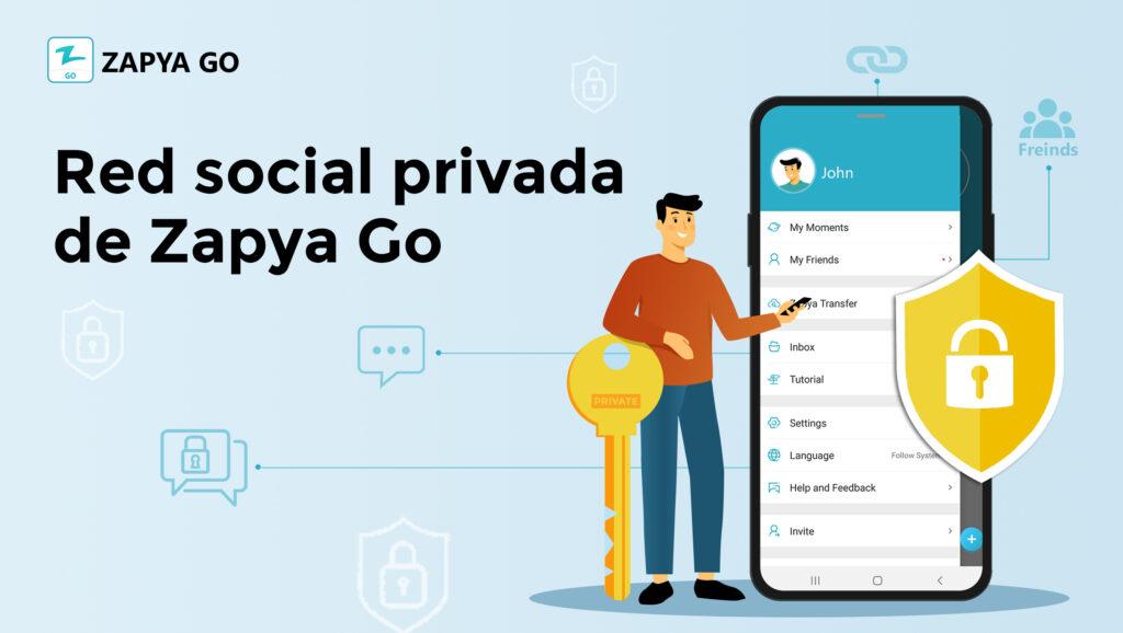 Red social privada de Zapya Go