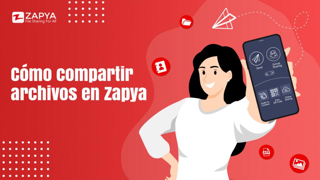 Cómo compartir archivos en Zapya