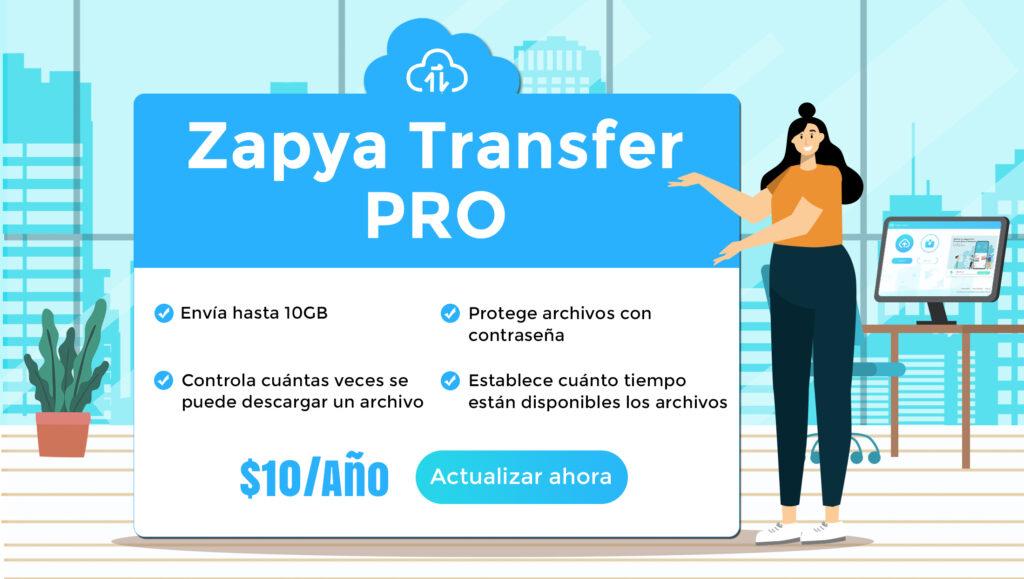 Actualízate a Zapya Transfer Pro
