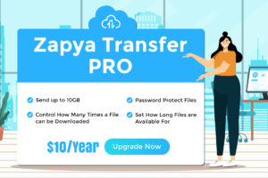 Upgrade to Zapya Transfer Pro