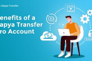 فوائد حساب Zapya Transfer Pro