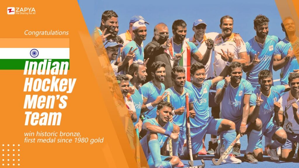 India ends the 4 decades wait for an Olympic medal