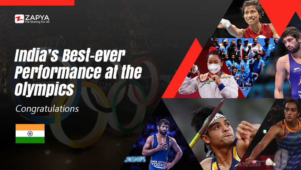 India's best-ever performance at the Olympics and bagged seven medals including gold.