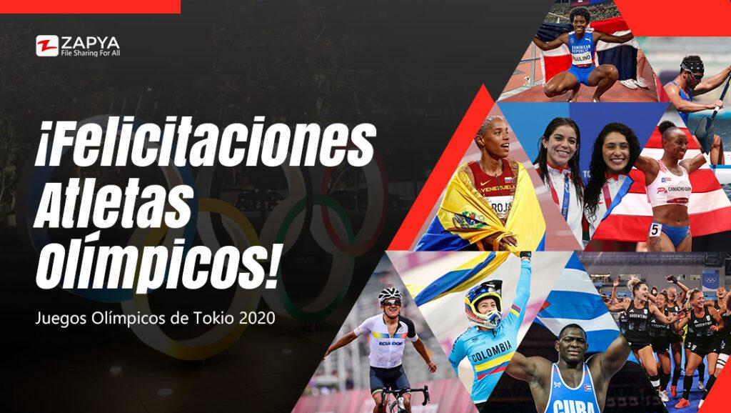 ¡Felicitaciones Atletas Olímpicos!