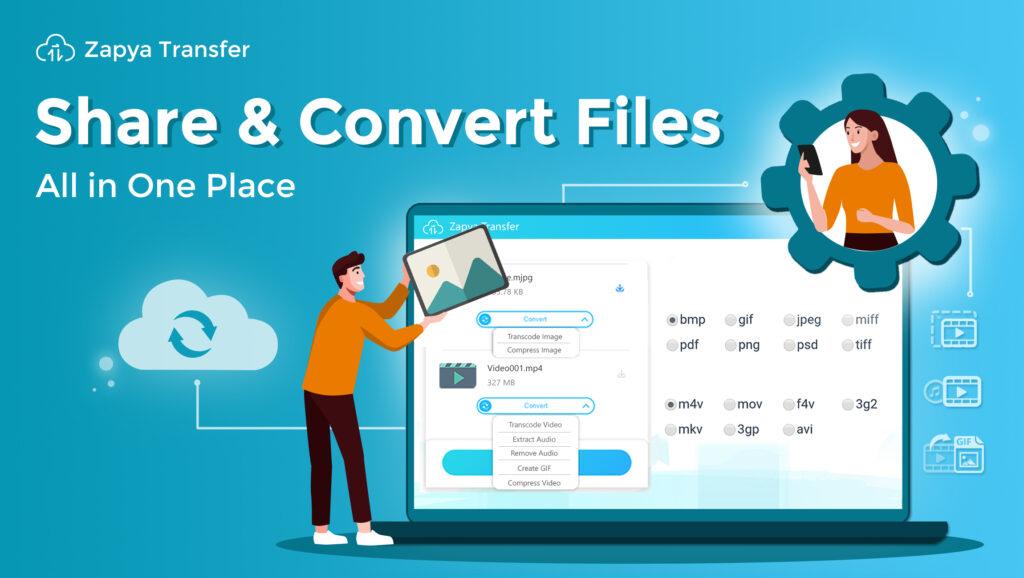 Share & Covert Files All in One Place