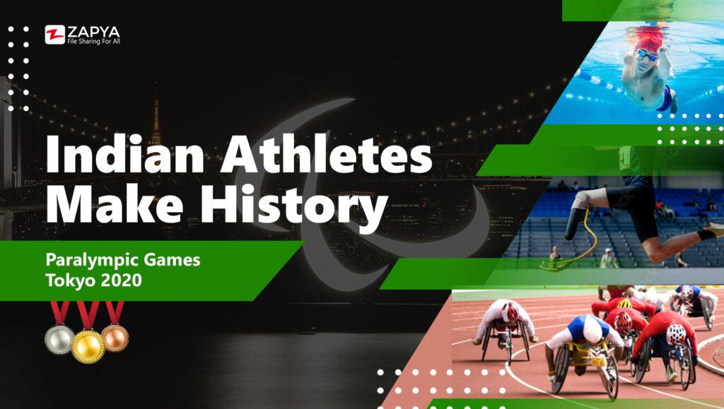 Indian athletes make history in Tokyo Paralympics 2020
